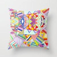 CIRCUS -C A N D Y- POP Throw Pillow