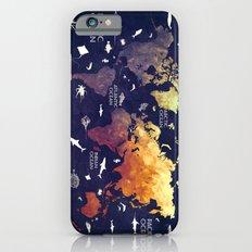 world map 11 Slim Case iPhone 6s
