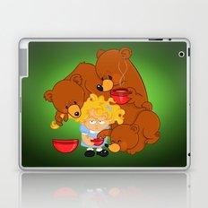 Goldilocks and the Three Bears Laptop & iPad Skin