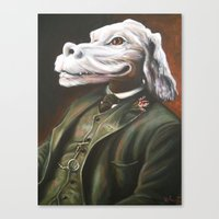 Luck Duke Canvas Print