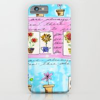 iPhone & iPod Case featuring IphoneCase4 by Cathy Bluteau of Cathy Michaels Design