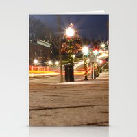 Downtown Blacksburg Chri… Stationery Cards