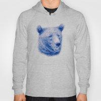 Brown bear is blue Hoody