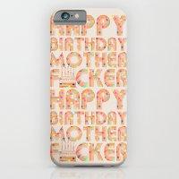 happy birthday iPhone & iPod Cases featuring Happy Birthday by studio VII