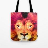 BIG CAT LION Tote Bag