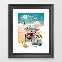 Insta Groove Framed Art Print