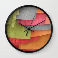 Explore colour Wall Clock