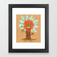 Ginger Birdfriend.  Framed Art Print