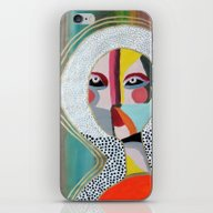 iPhone & iPod Skin featuring Aura 2 by Sylvie Demers