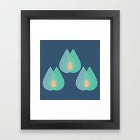MCM Printemps Framed Art Print