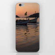 Returning from Dolphin Trip Palolem iPhone & iPod Skin