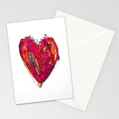 Funky Heart Stationery Cards
