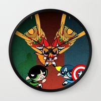 Powerpuff Girls Wall Clock