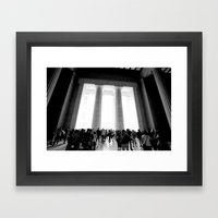 Lincoln Framed Art Print