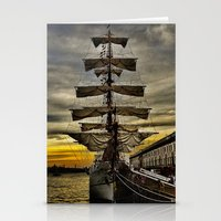 Tall Ship BAE Guayas Stationery Cards