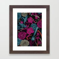 Dark Garden Framed Art Print