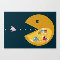 Indoor Games Canvas Print