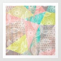 Floral MIX Art Print