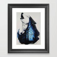 Missing you Framed Art Print