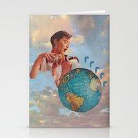 The World Needs Somethin… Stationery Cards