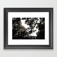 St Paul's Cathedral B&W Alt Framed Art Print