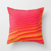 Heat Burst Throw Pillow
