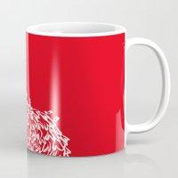 Red Birds Mug