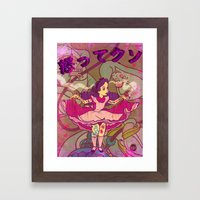 Alice F@!$%! Mad Framed Art Print