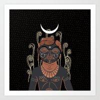 AG - Indian Man DARK Ver… Art Print