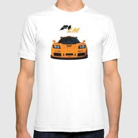 1995 McLaren F1 LM  Mens Fitted Tee White SMALL