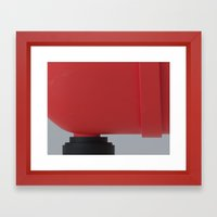 Red Serie A Framed Art Print