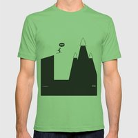 WTF? Ski Mens Fitted Tee Grass SMALL