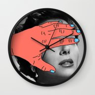 Burning Hands Wall Clock