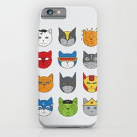iPhone & iPod Case featuring Super Cats by Leo Canham