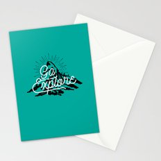 Go To Explore Stationery Cards