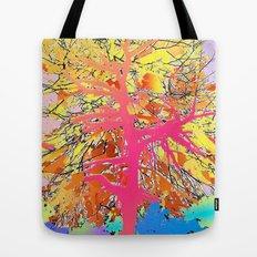 Color Tree Tote Bag