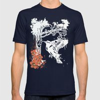 Goldfinch Mother - Sprin… Mens Fitted Tee Navy SMALL