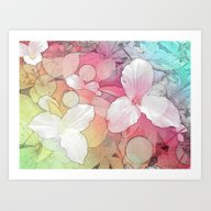 Art Print featuring Angle Trillium by Lillyan