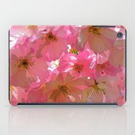 Pink Cherry Blossoms iPad Case