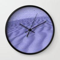 Impending Dune Wall Clock