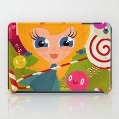 Caramel Princess iPad Case