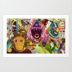 The Circus #02 Art Print