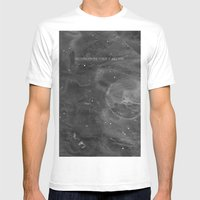 Underneath The Floor, It… Mens Fitted Tee White SMALL