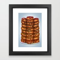 Donuts III 'sparkles&cho… Framed Art Print