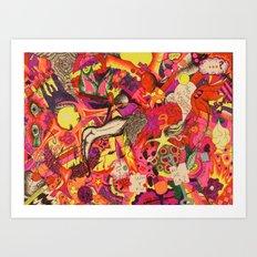 Temporary Insanity Art Print