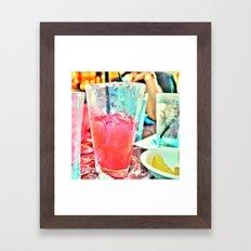Ice Cold  Goodness Framed Art Print