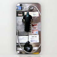 Pay Phone VIII iPhone & iPod Skin