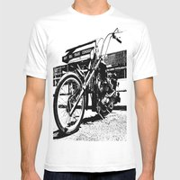 South Tacoma Chopper Mens Fitted Tee White SMALL