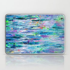 Silver Rain Laptop & iPad Skin