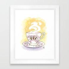 Royal Flush Framed Art Print